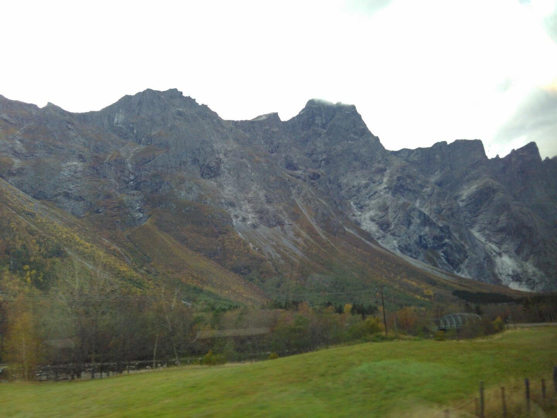 The Trolltindane mountains